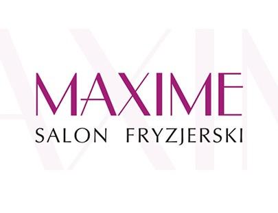 Grafika 3D | Animacje 3D | Projektowanie graficzne / Maxime - salon fryzjerski