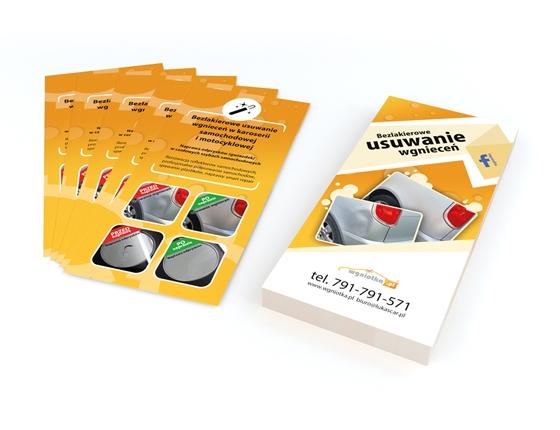 VISUAL IMAGE Studio projektowania graficznego 3D 2D - wizualizacje 3D - modelowanie 3D - responsywne strony internetowe / Ulotka formatu DL / Identyfikacja wizualna
