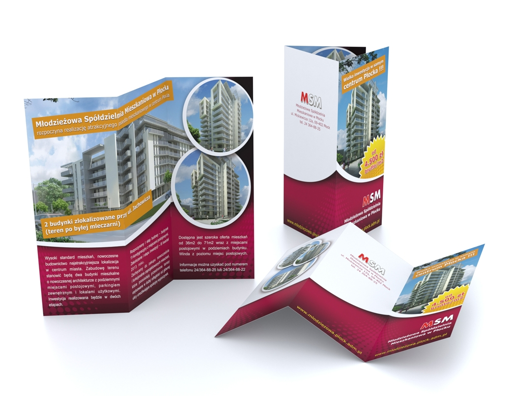 VISUAL IMAGE Office of the graphic design 3D 2D - 3D visualization - 3D modeling - Web pages | DL leaflet format | Corporate Identity