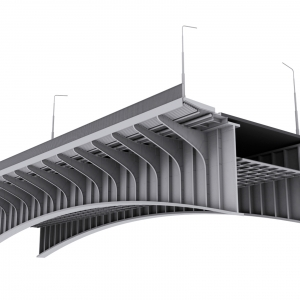 Grafika 3D | Animacje 3D | Projektowanie graficzne | Most Śląsko-Dąbrowski | Modele 3D wizualizacje