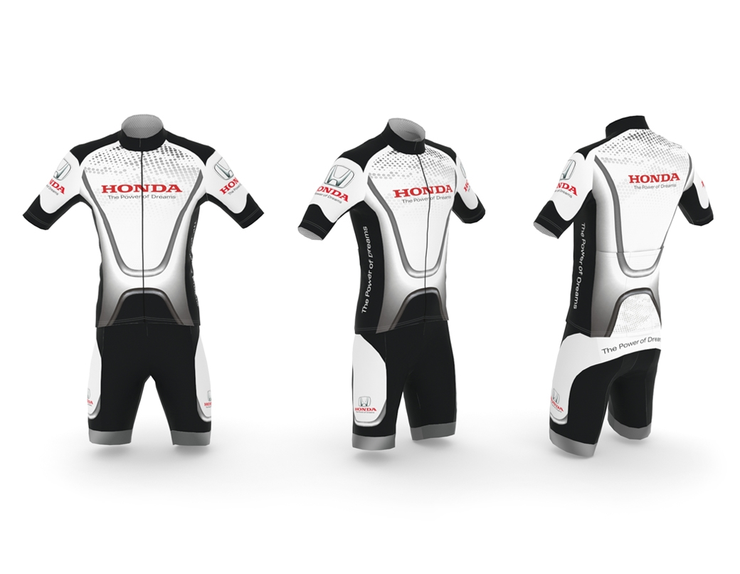 VISUAL IMAGE Office of the graphic design 3D 2D - 3D visualization - 3D modeling - Web pages | Sports clothing for bike | Corporate Identity