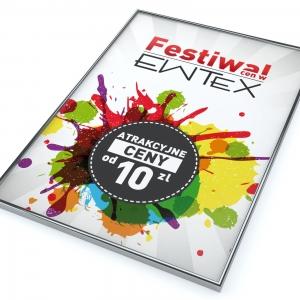 Grafika 3D | Animacje 3D | Projektowanie graficzne | Festiwal EWTEX | Identyfikacja wizualna