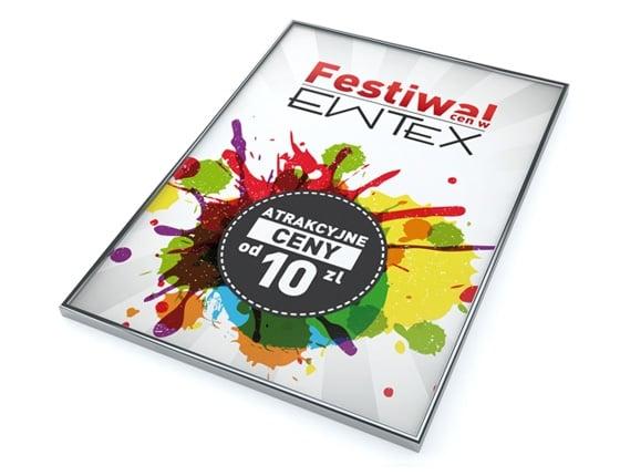 Grafika 3D | Animacje 3D | Projektowanie graficzne | Visual Image / Festiwal EWTEX / Identyfikacja wizualna