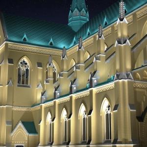 Grafika 3D | Animacje 3D | Projektowanie graficzne | Archikatedra w Łodzi | Wizualizacje 3D