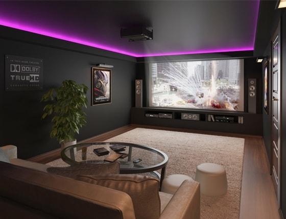 VISUAL IMAGE Studio / Kino domowe / Wizualizacje 3D
