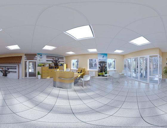 Grafika 3D | Animacje 3D | Projektowanie graficzne / Panoramy 360 / Wizualizacje 3D 360 stopni