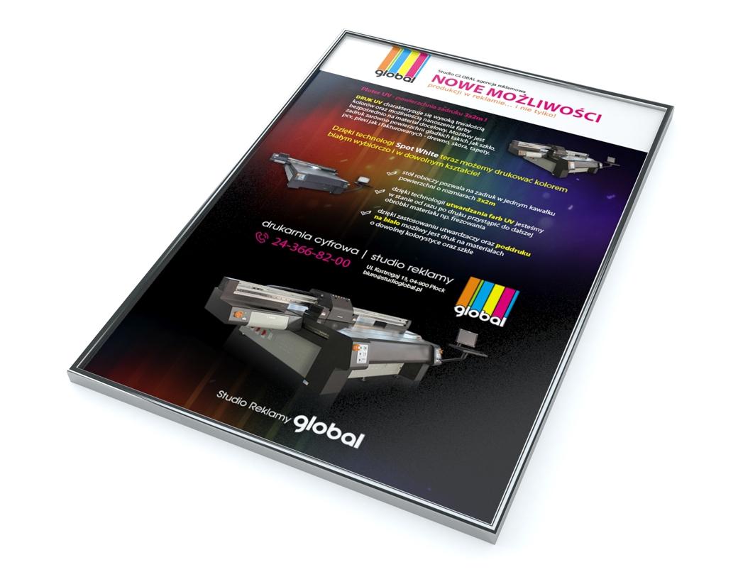 Grafika 3D | Animacje 3D | Projektowanie graficzne | Studio reklamy GLOBAL | Identyfikacja wizualna