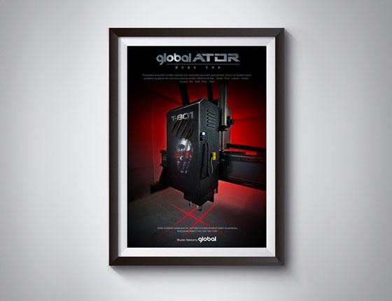Grafika 3D | Animacje 3D | Projektowanie graficzne | Visual Image / Studio reklamy GLOBALATOR / Identyfikacja wizualna