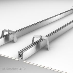 Grafika 3D | Animacje 3D | Projektowanie graficzne | Oprawa profilowa aluminiowa | Modele 3D wizualizacje
