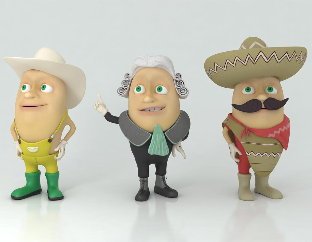 Grafika 3D   Animacje 3D   Projektowanie graficzne   Trzech wspaniałych   Modele 3D wizualizacje