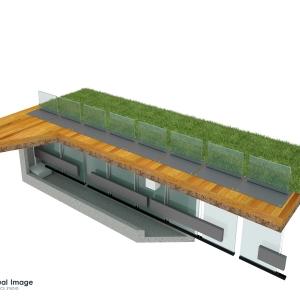 Grafika 3D | Animacje 3D | Projektowanie graficzne | Ogrodzenia chowane w ziemi | Modele 3D wizualizacje