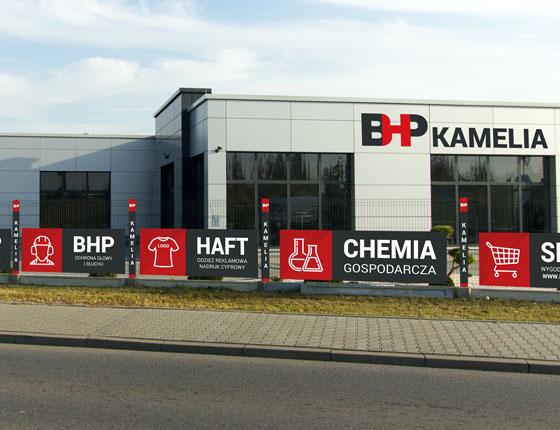 Grafika 3D | Animacje 3D | Projektowanie graficzne / Identyfikacja wizualna firmy BHP Kamelia / Identyfikacja wizualna