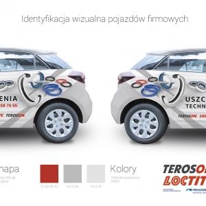 Grafika 3D | Animacje 3D | Projektowanie graficzne | Samochód firmowy ALFA | Identyfikacja wizualna