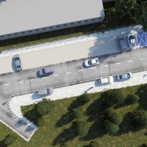 Grafika 3D | Animacje 3D | Projektowanie graficzne | Reorganizacja ulic w Warszawie | Wizualizacje 3D