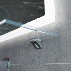 Grafika 3D | Animacje 3D | Projektowanie graficzne | Podświetlenie LED | pólka szklana | Wizualizacje 3D