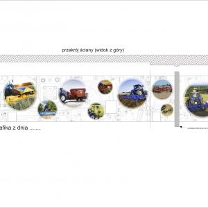 Grafika 3D   Animacje 3D   Projektowanie graficzne   Oklejenie Biura CNH Kutno   Identyfikacja wizualna