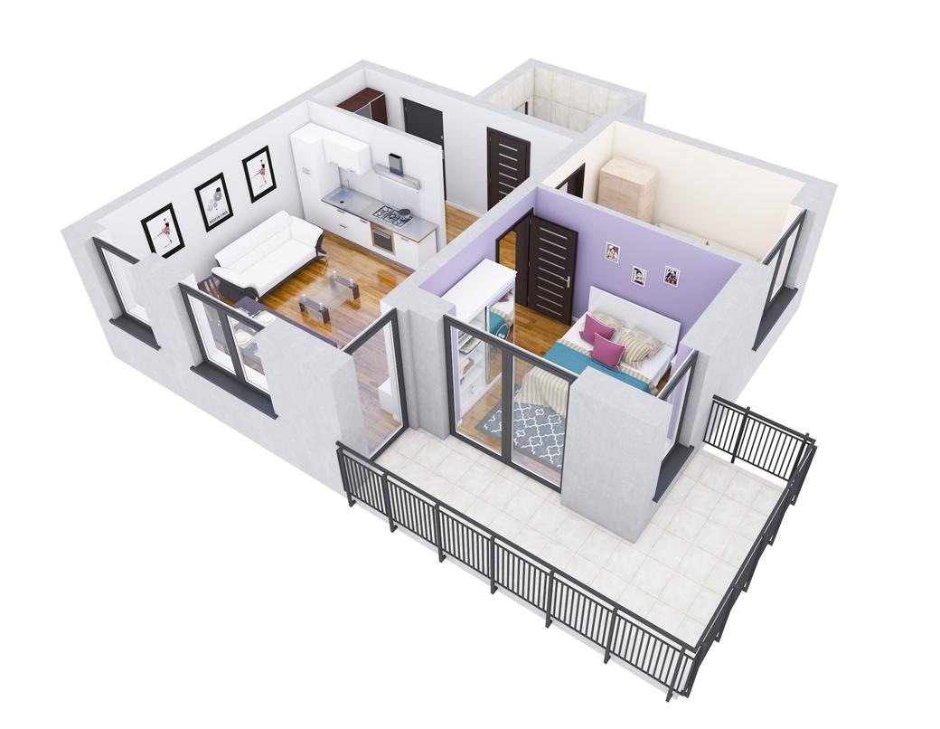 Grafika 3D | Animacje 3D | Projektowanie graficzne | Mieszkanie 3D | Wizualizacje 3D